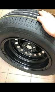 Brand new bridgestone 195/65r15 tire