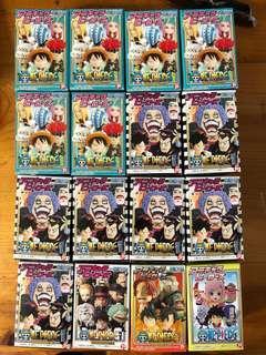 海賊王One Piece扭蛋盒蛋Q版figure散款16盒共100元