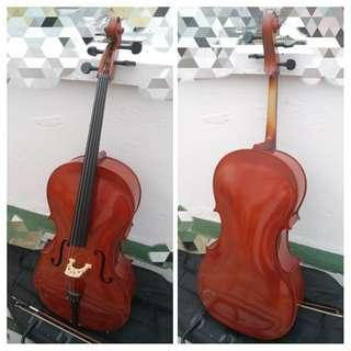 手工琴 Cello大提琴4/4 高級琴碼 演奏級 低於半價出售