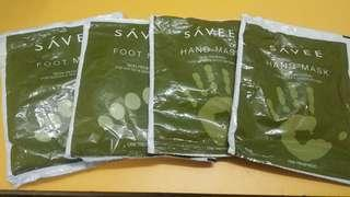 FREE ITEM savee hand n foot mask