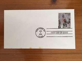 911 Heroes First Day Cover