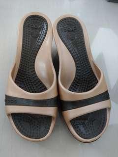Crocs Heels Sandals Open Toes Slip On