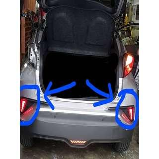 Toyota C-HR 2017-2019 Rear Bumper Side LED ( Left and Right )