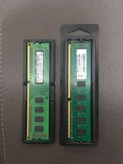 🚚 桌電記憶體2+1G
