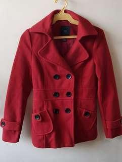 Forever 21 Red Winter Coat