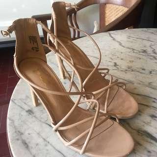 Nude heels by Brash