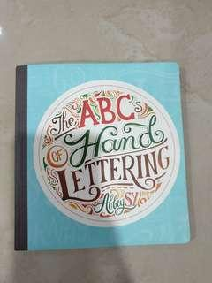 The ABC of hand lettering by Abbey Sy