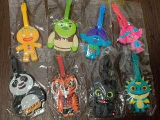DreamWorks Official Luggage Tags