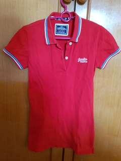 Authentic Superdry Polo Shirt #cnyred