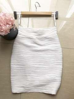 BNWOT White skirt
