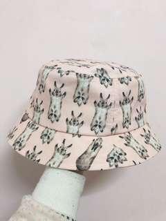 🚚 全新 滿版兔子花紋漁夫帽