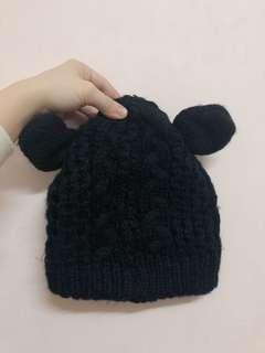 🚚 可愛針織米奇毛帽