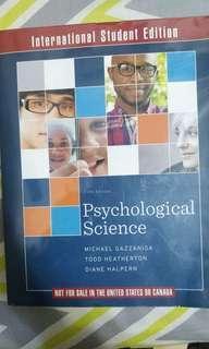 Psychological Science by Michael Gazzaniga