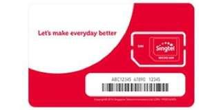 Singtel sim  combo 12 plan unlimited