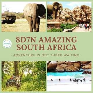 🦒 8D7N South Africa 🦓