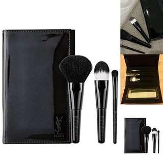 Auth 💯 YsL Luxury Makeup Pouch and Brush ( Retails at 5,800$)