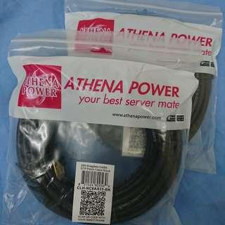 Athena Power CAT6A Ethernet Lan cable