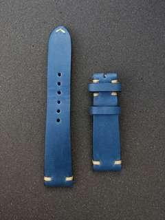 Brand New Martu Aegean Blue 20mm watch strap