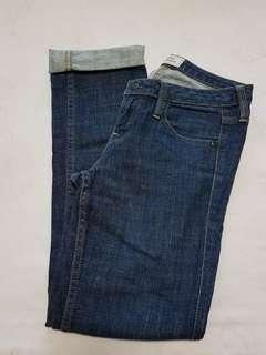 Authentic Levis Strauss Slim Straight Cut Jeans.