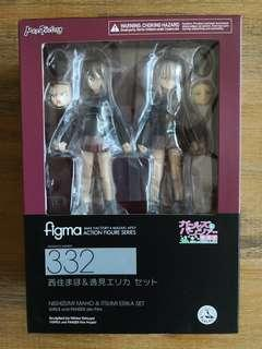 Figma 332 - Girls und Panzer the Movie: Maho Nishizumi & Erika Itsumi set