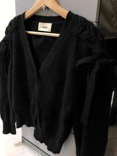 Snidel cardigan black