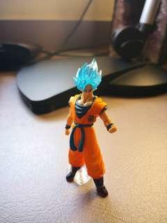 Ssj blue Goku Gashapon from Japan, Dragon ball