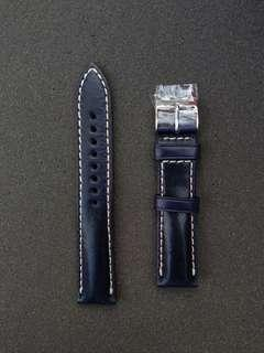 Watch Gecko Vintage Otley 20mm blue watch strap