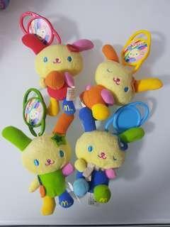 Usahana x McDonald's  2005年 開心樂園餐玩具