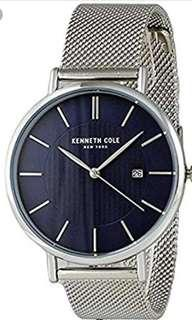 SUPER SALE! REPRICED Original Kenneth Cole Stainless Steel Watch