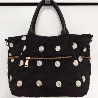 Big polka dot bag
