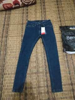 celana jeans bershka super skinny fit not zara hnm