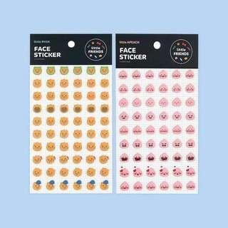 #177 kakao friends character stickers