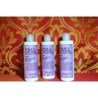 Snail Lotion with Acai Berry Extract (SPF 50)