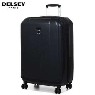 Delsey Shadow 83cm 4-Double Spinner Wheels Luggage 30inch - Black