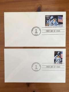 USA Space Stamps