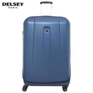Delsey Shadow 83cm 4-Double Spinner Wheels Luggage 30inch - Navy