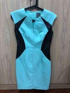 Urban Twist Dress - Pale Green