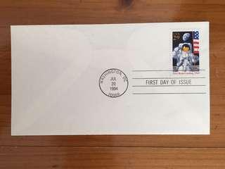 USA Space stamp
