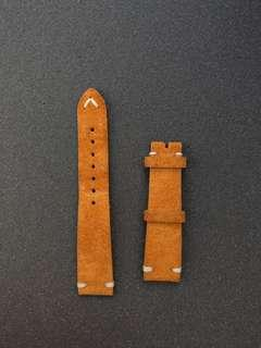 Watchbandit 20mm Suede Watch Strap