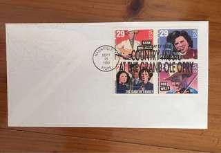 USA Country Music Legends Stamps