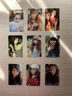 SNSD(Girl generation), Oh and Hoot photo card (sell only in whole set )(Price can still negotiate)