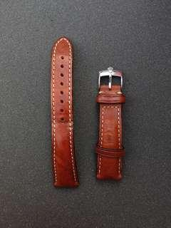 Watch Gecko 20mm brown watch strap