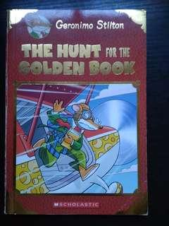 Geronimo Stilton The hunt for the golden book