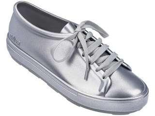 Melissa Be Shine Silver Sneakers