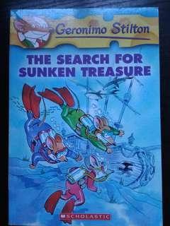 Geronimo Stilton The Search for sunken Treasure