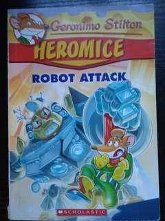 Geronimo Stilton Heromice Robot attack