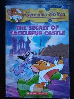 Geronimo Stilton The Secret of cacklefur castle