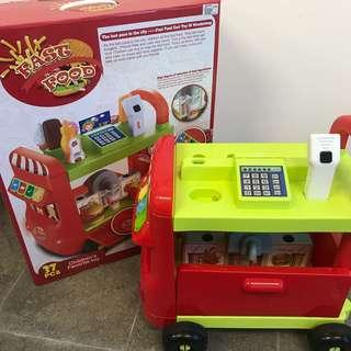NEW YEAR CLEARANCE!! Fast Food Truck Trolley