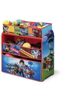 🚚 BN Paw Patrol toy organizer organiser