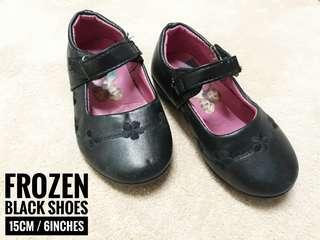 Frozen Black Shoes